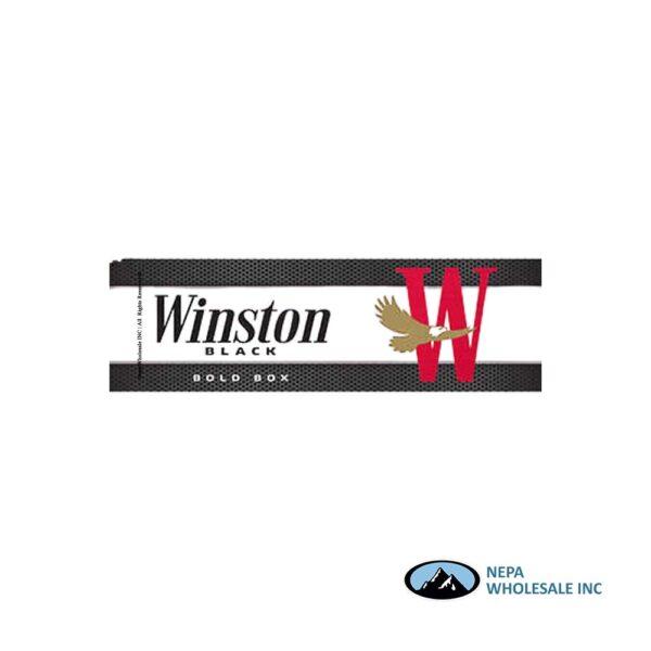 Winston King Black Bold