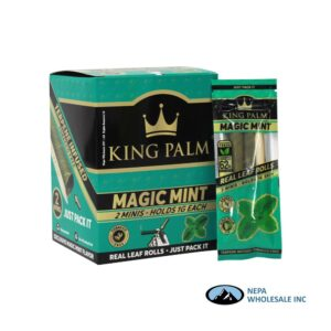 King Palm Flavors 2 Mini Rolls Magic Mint 20CT