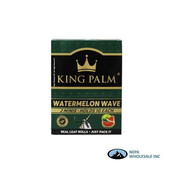 King Palm Flavors 2 Mini Rolls Watermelon Wave 20CT