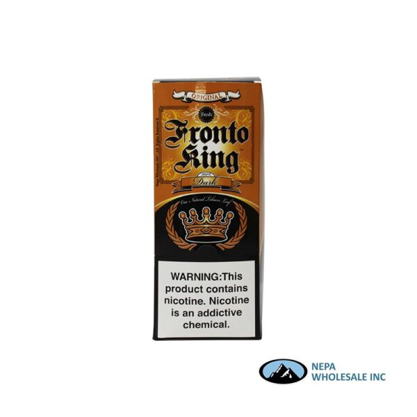Fronto King Dark Wraps 12CT Cognac