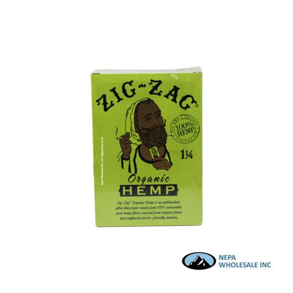 Zig Zag 11/4 Rolling Papers Organic 48 Booklets Dump Bin