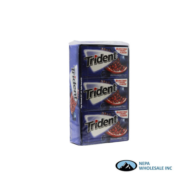 Trident Value Pack 12ct Wild Blueberry Twist