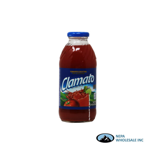 .Clamato Regular 12-16 Oz