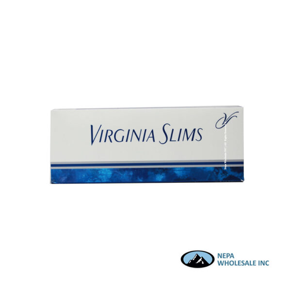 Virginia Slims 100's Silver Box