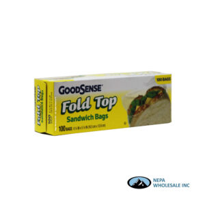 GoodSense Fold Top 100CT Sandwich Bags