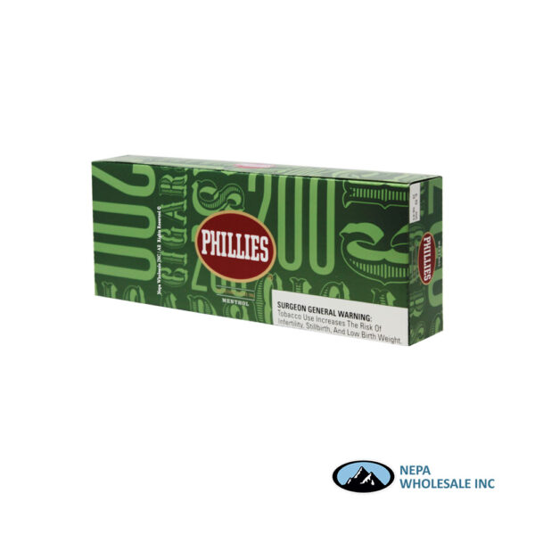 Phillies Filt Cigars 10 PK Menthol