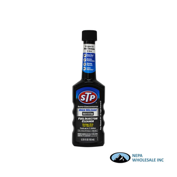 STP High Mileage Super Concentrate Fuel Injector Cleaner 5.25 Fl Oz