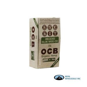 OCB Organic 1 1/4 + Tips 24 Booklets