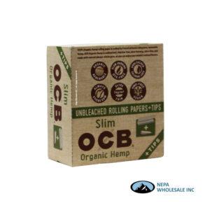OCB Organic Slim + Tips 24 Booklets
