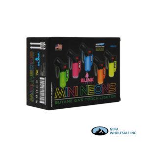 Blink Mini Neon Torch Lighter 20CT