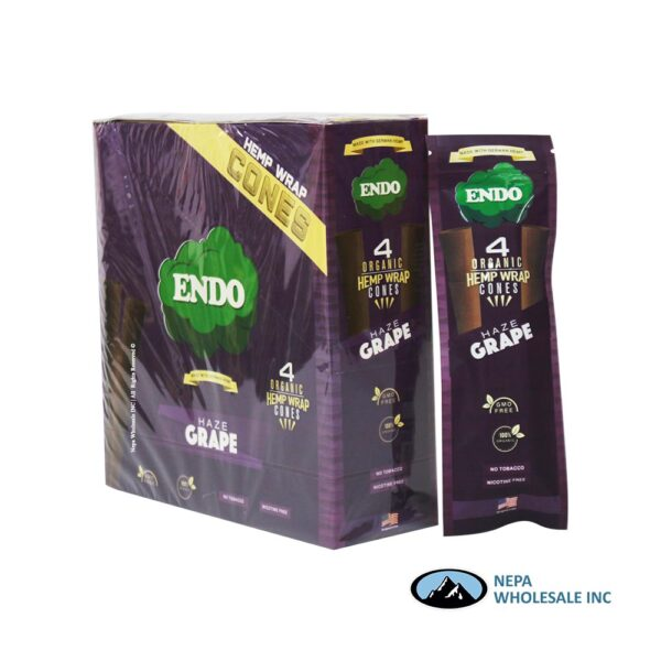 Endo Hemp Wrap Cones Haze Grape
