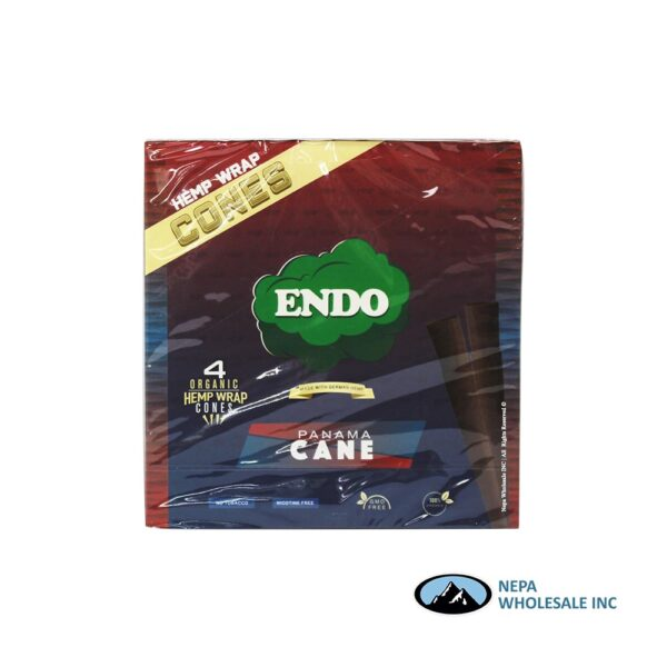 Endo Hemp Wrap Cones Panama Cane