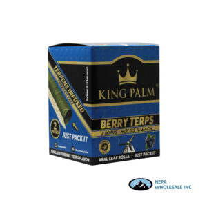 King Palm Flavors 2 Mini Rolls Berry Terps 20CT