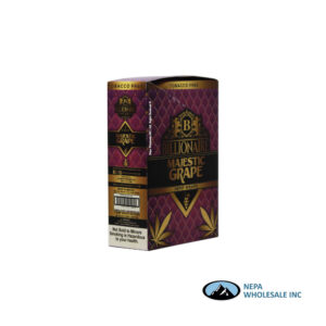 Billionaire 2-25PK Majestic Grape Hemp Wraps