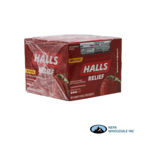Halls 20CT Strawberry