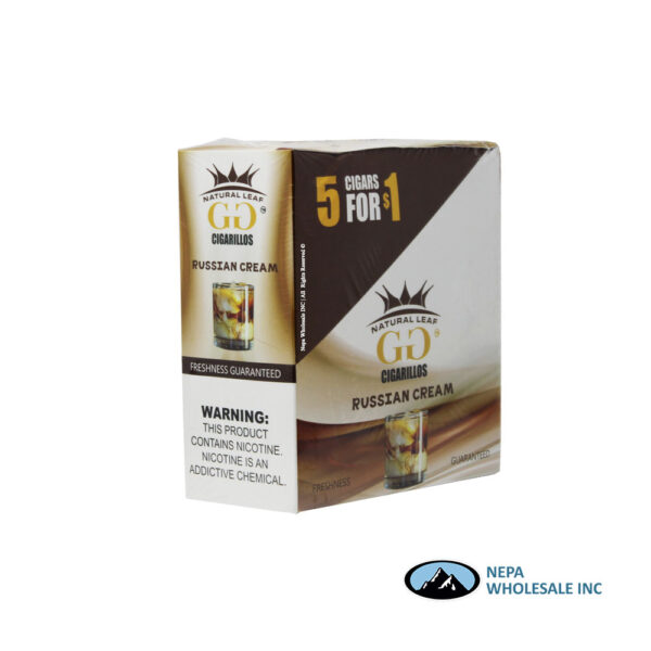 GG Cigarillos 5 for $0.99 Russian Cream