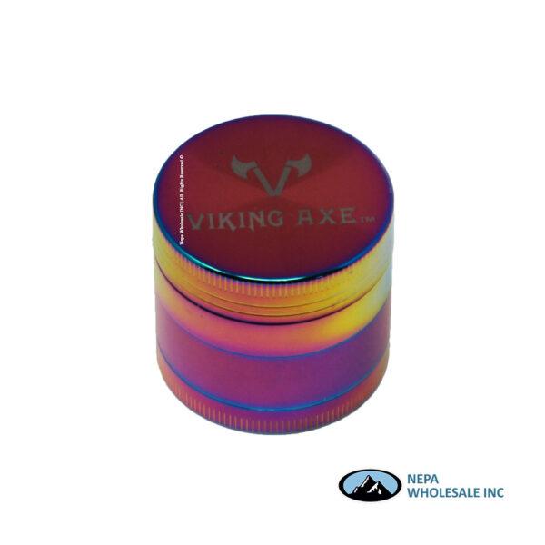 Grinder (GV001-40RB) 4 Parts Viking Axe Rainbow 40mm