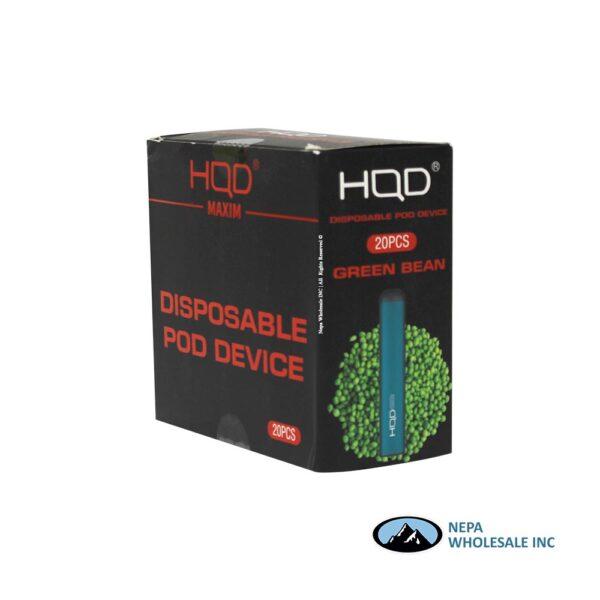 HQD Maxim Disposable 5% Green Bean 1x20PK