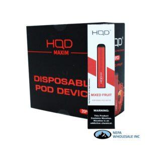 HQD Maxim Disposable 5% Mixed Fruit 1x20PK