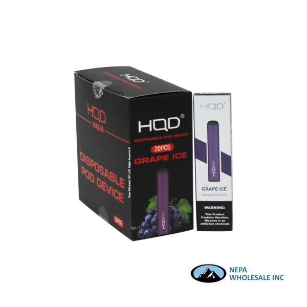 HQD Maxim Disposable 5% Grape Ice