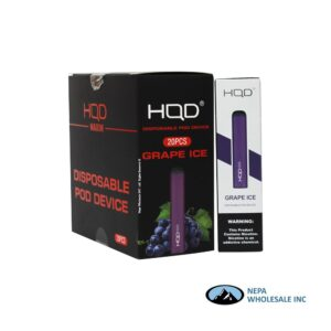 HQD Maxim Disposable 5% Grape Ice