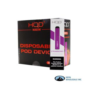 HQD Maxim Disposable 5% Strawberry