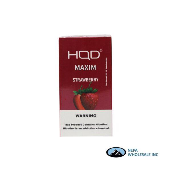 HQD Maxim Disposable 5% Strawberry