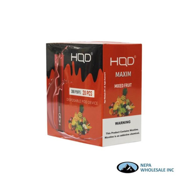HQD Maxim Disposable 5% Mixed Fruit