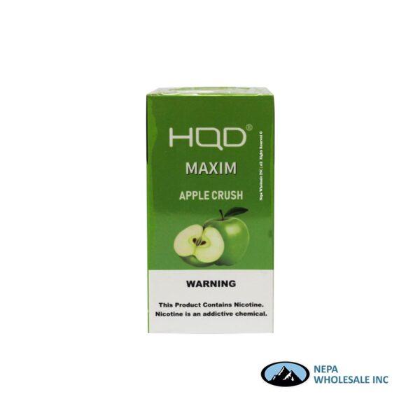 HQD Maxim Disposable 5% Apple Crush