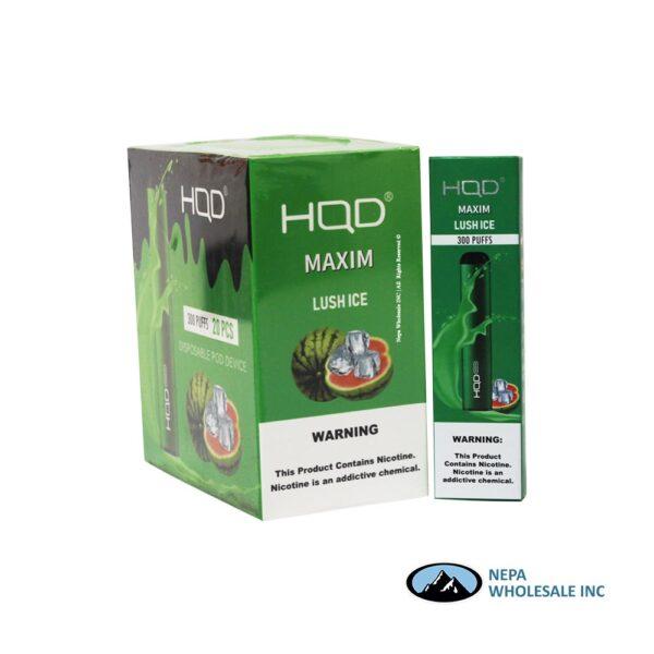 HQD Maxim Disposable 5% Lush Ice