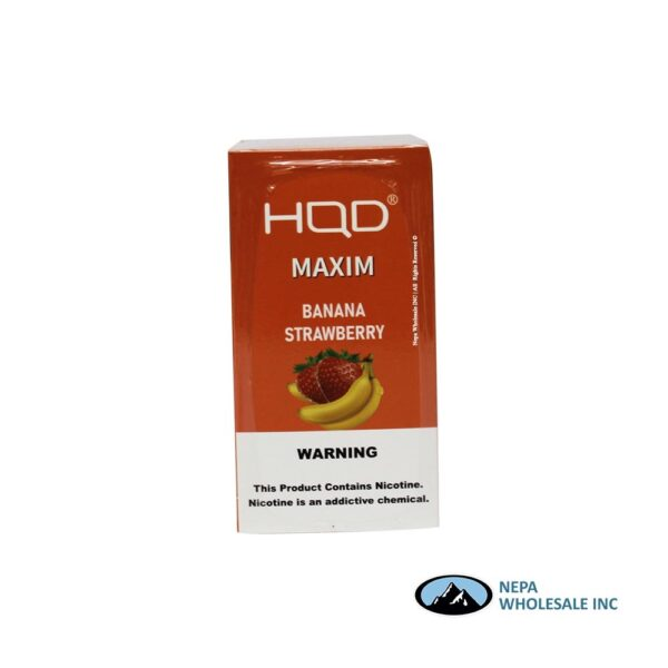 HQD Maxim Disposable 5% Banana Strawberry