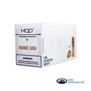 HQD V2 Disposable 5% Orange Soda