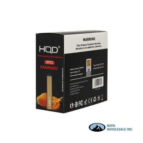 HQD Maxim Disposable 5% Mango