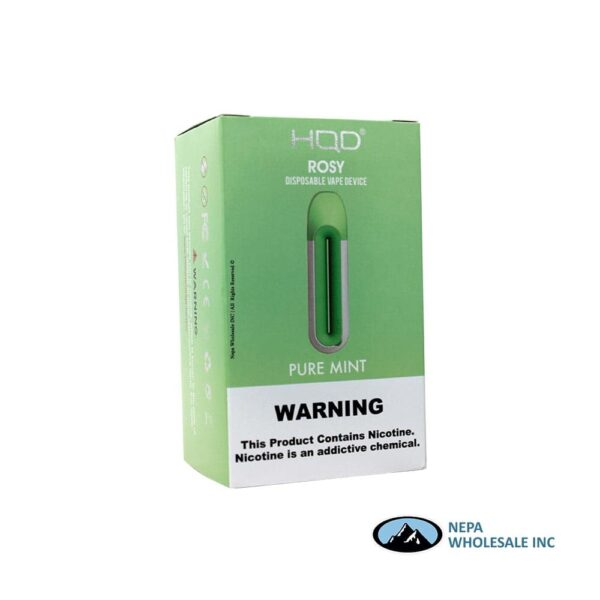 HQD Rosy Disposable 5% Pure Mint