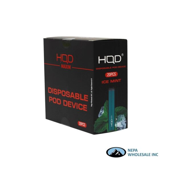 HQD Maxim Disposable 5% Ice Mint