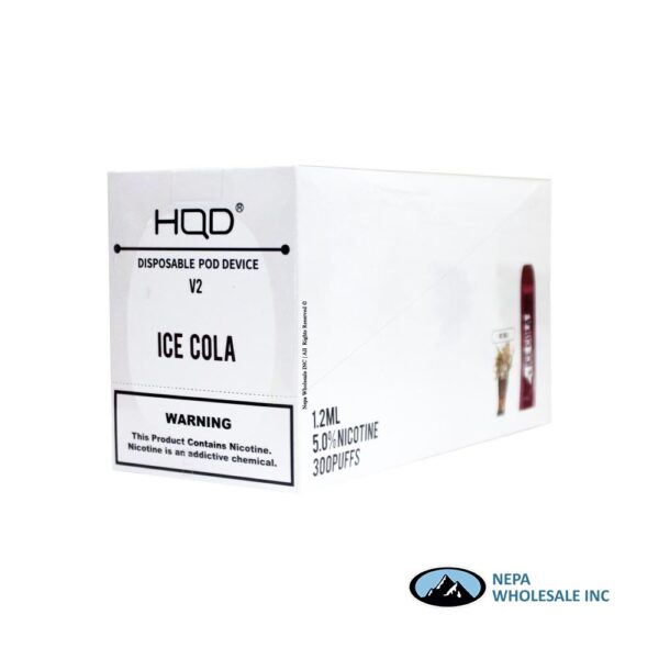 HQD V2 Disposable 5% Ice Cola