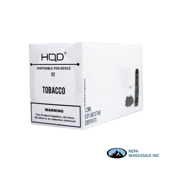 HQD V2 Disposable 5% Tobacco