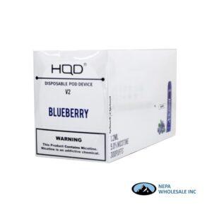 HQD V2 Disposable 5% Blueberry