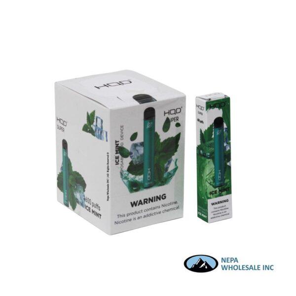 HQD Super Disposable 5% Ice Mint 15PK