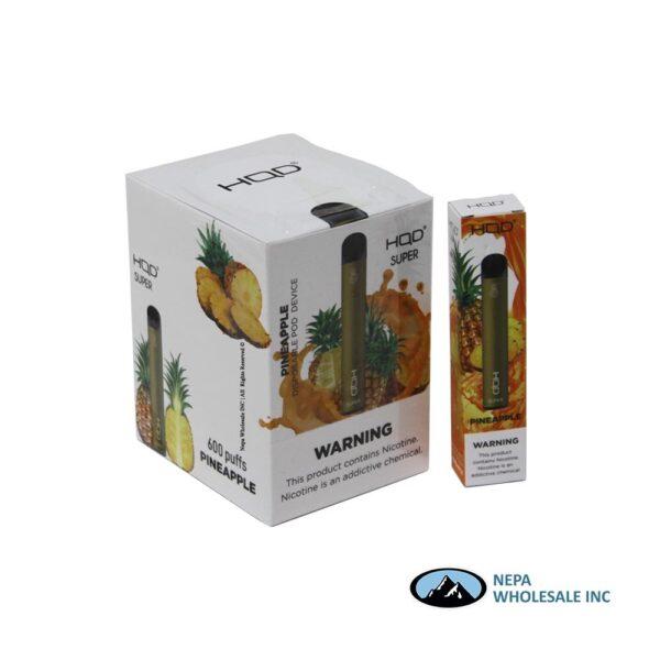 HQD Super Disposable 5% Pineapple 15PK