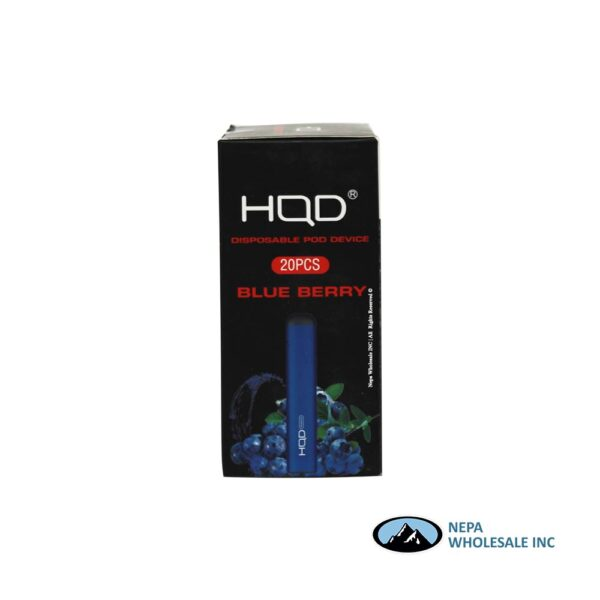 HQD Maxim Disposable 5% Blueberry
