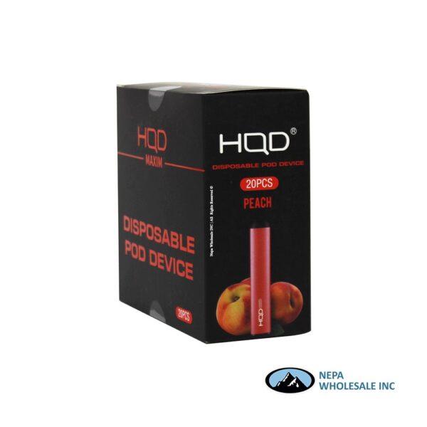 HQD Maxim Disposable 5% Peach