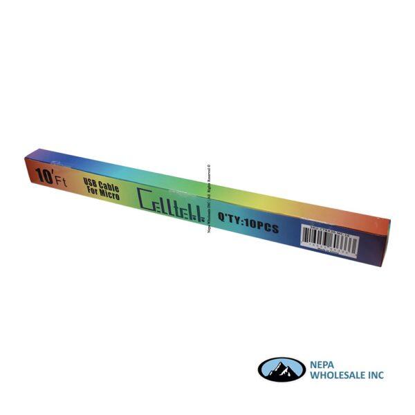 Cell Tekk Micro-USB 10ft 10CT