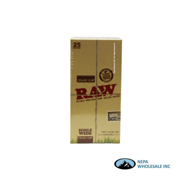Raw Organic Single Wide