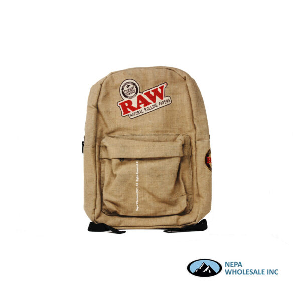 Raw X Rolling Paper Smell Proof Backpack 1CT