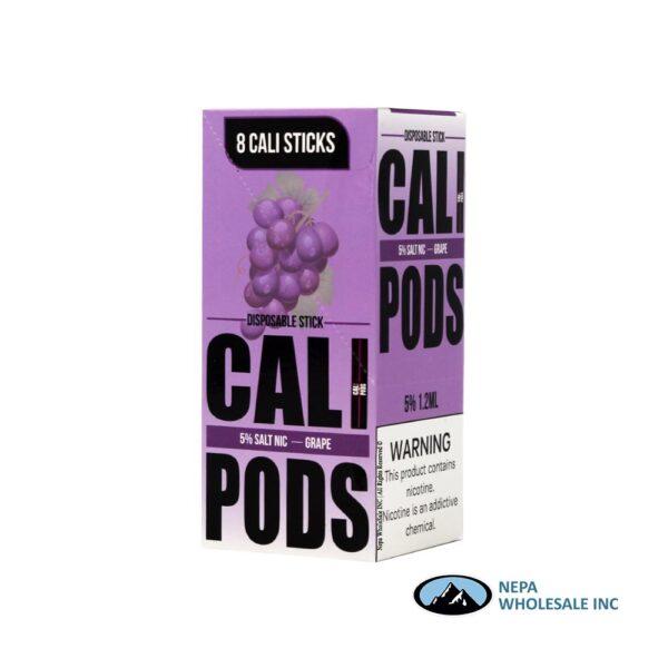 Cali Disposable Sticks 8CT Grape