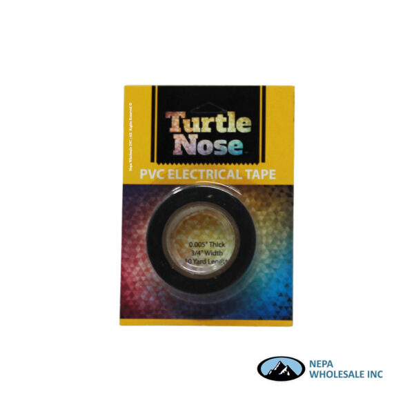 Turtle Nose PVC Electrical Tape 10yd.