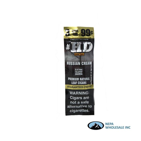 GT HD 3 for $0.99 15pk Russian Cream