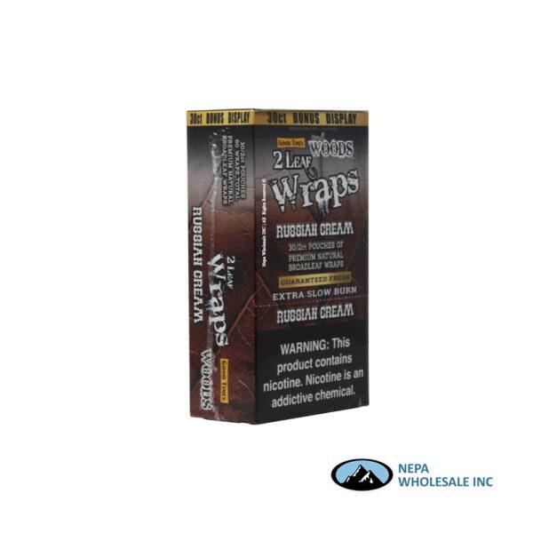 Sweet Woods 2-30CT Wraps Russian Cream
