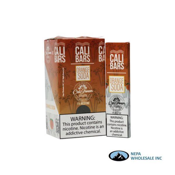 Cali Bars 5% Orange Soda